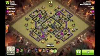 Clash of Clans Karabear attack 2 Farmers War 45
