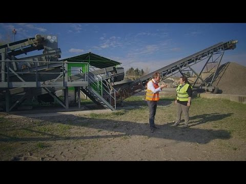 The rebirth of construction waste in Slovenia - business planet