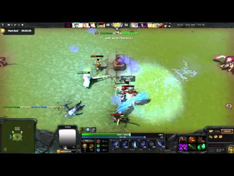 Dota 2 BVO - (Bleach Vs Onepiece) Zorro Cut them all!!!