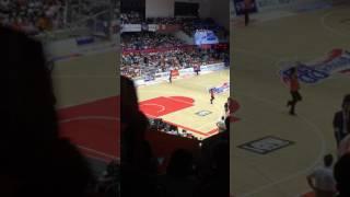 今季開幕したB.LEAGUE 2016-2017シーズン 新潟アルビレックスBB VS サン...