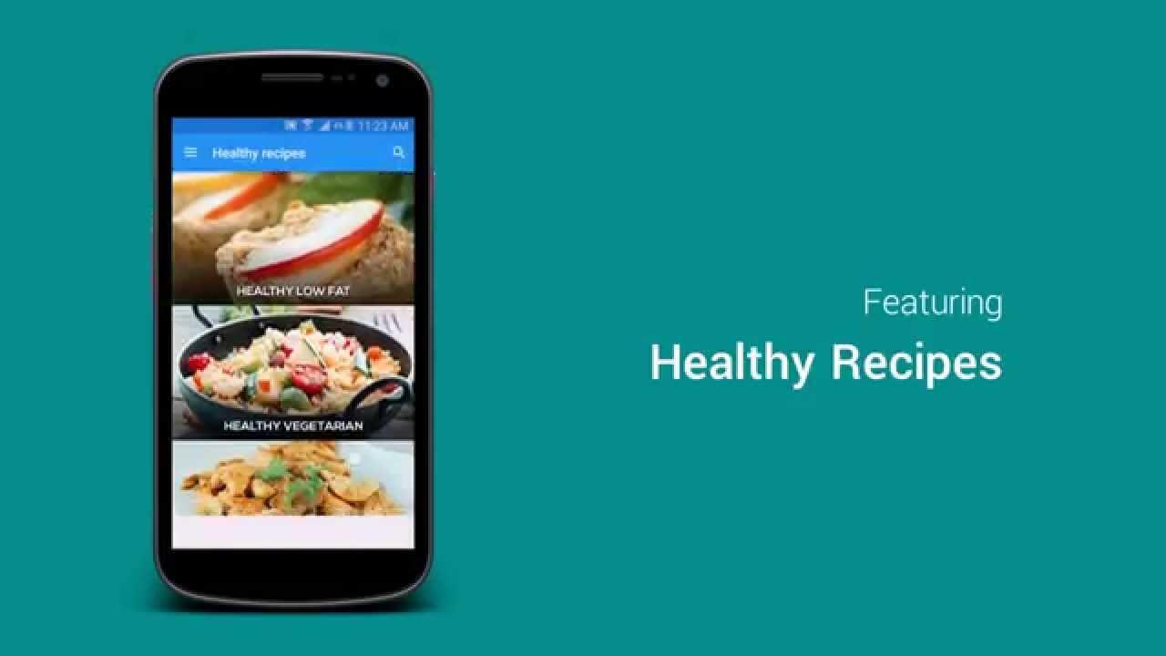 Healthy recipes free recipe app youtube healthy recipes free recipe app forumfinder Images