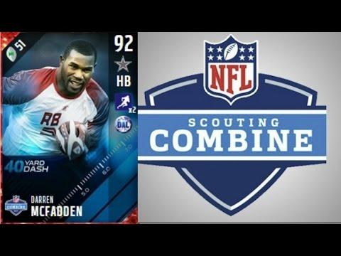 Combine Darren McFadden | Player Review | Madden 17 Ultimate Team Gameplay