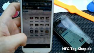 NFC in der Praxis - Android Beam mit Nexus S, Galaxy S III und BlackBerry 9900