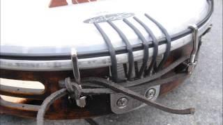 Home Made Tambourine Banjo