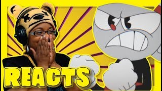 Bendy VS Cuphead DBX by ScrewAttack | Animation Reaction