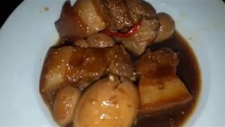 Thịt kho tàu ngon tuyệt đỉnh mà không cần nước dừa ( Caramelized Pork and Eggs