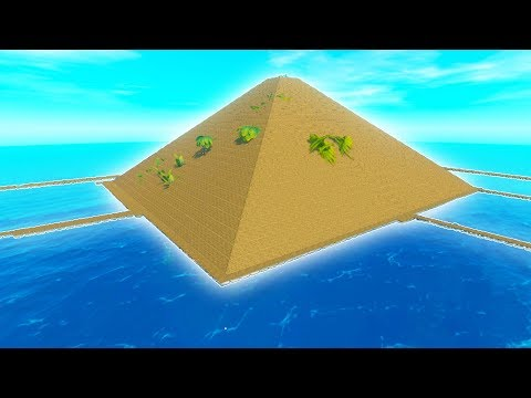 When You Make An Entire Island Disappear In Raft