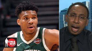 'Pump the brakes' on the Bucks, Giannis must show up in Game 5 - Stephen A. | Stephen A. Show