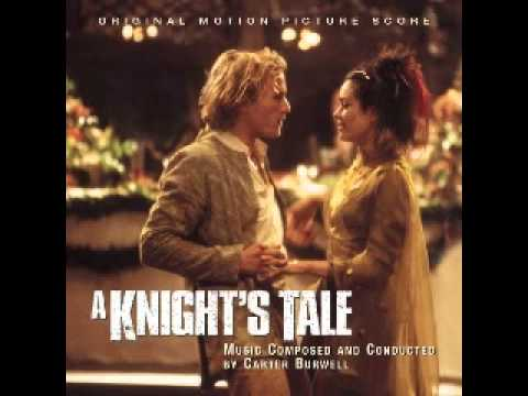 A knight's tale - soundtrack / score - Carter Burwell - Ritter aus Leidenschaft