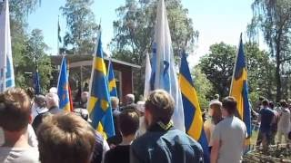 NATIONALDAGSFIRANDE på Hallandsgården 6 juni 2016