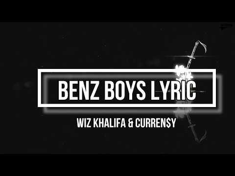 Benz Boys (Lyrics) - Wiz Khalifa & Curren$y feat Ty Dolla $ign (2009 Album)