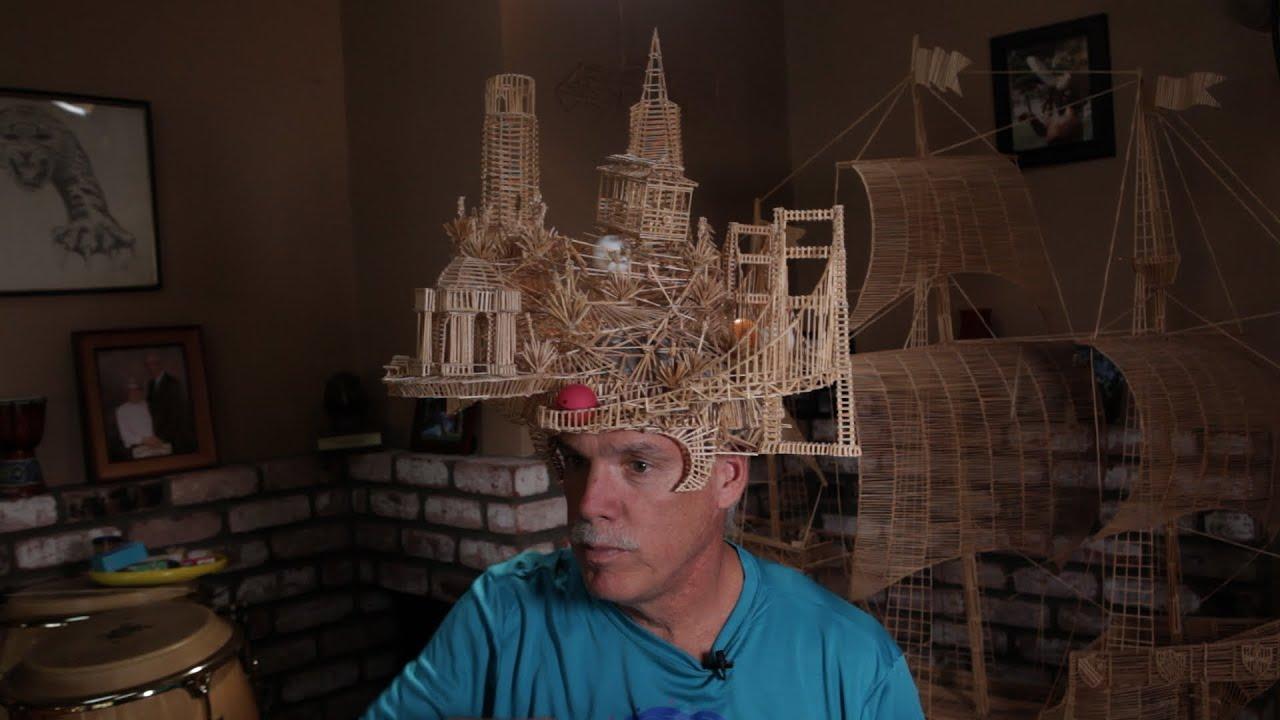 Toothpick Sculpture the art of tinkering: scott weaver's 100,000-toothpick sculpture
