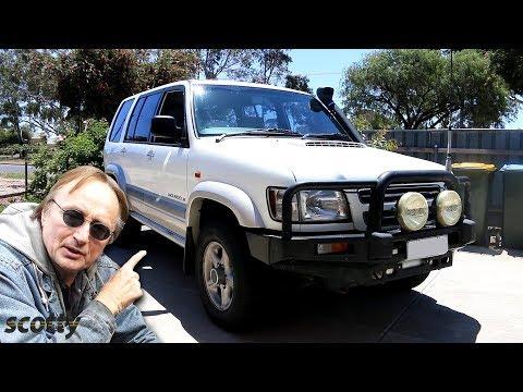 Here's What SUVs are Like in Australia, Isuzu Trooper