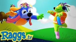 🦖Dinosaur song   Nursery Rhymes and Kids Songs   Raggs TV