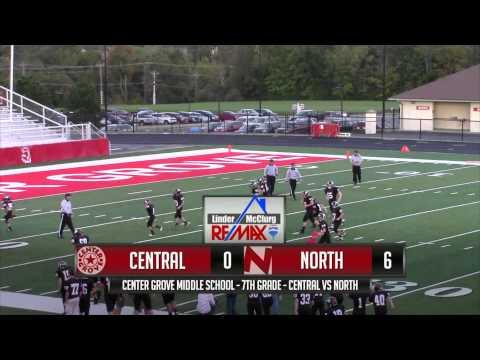 7th Grade - Center Grove Middle School Central vs North (2014)