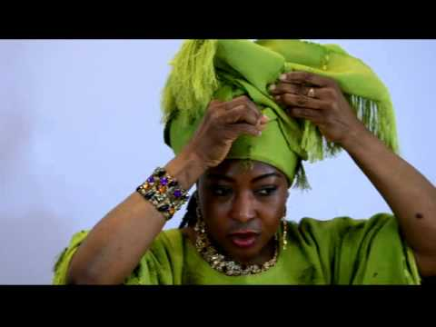 HOW TO TIE ASO OKE - AFRICAN HEAD GEAR (GELE)