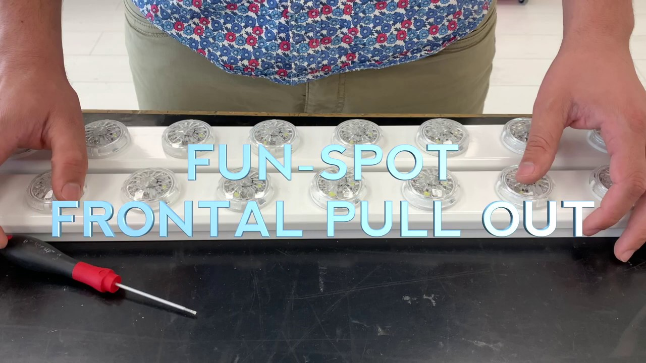 FUN-LED - Fun-Spot - Frontal Pull Out Feature