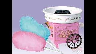аппарат для приготовления сладкой ваты. Сделали сами сладкую вату