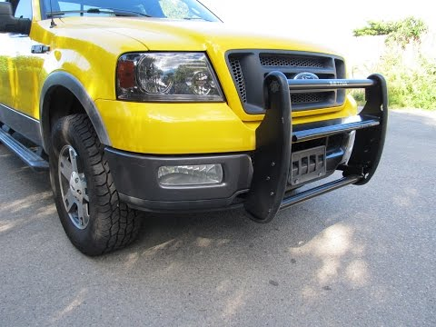 Setina PB400 push bar install on 04-08 F-150
