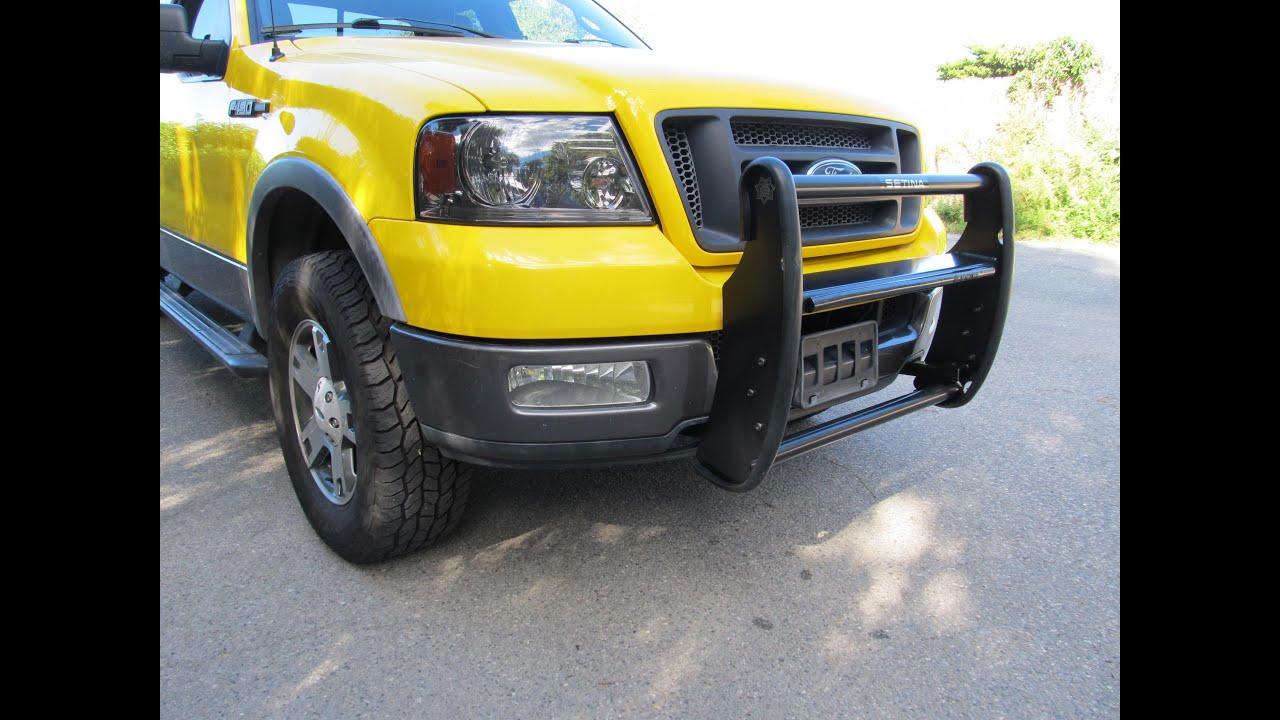 2016 Ford Crown Victoria >> Setina PB400 push bar install on 04-08 F-150 - YouTube