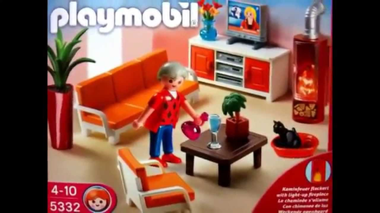 Playmobil doll 39 house life house youtube - Playmobil wohnzimmer 5332 ...