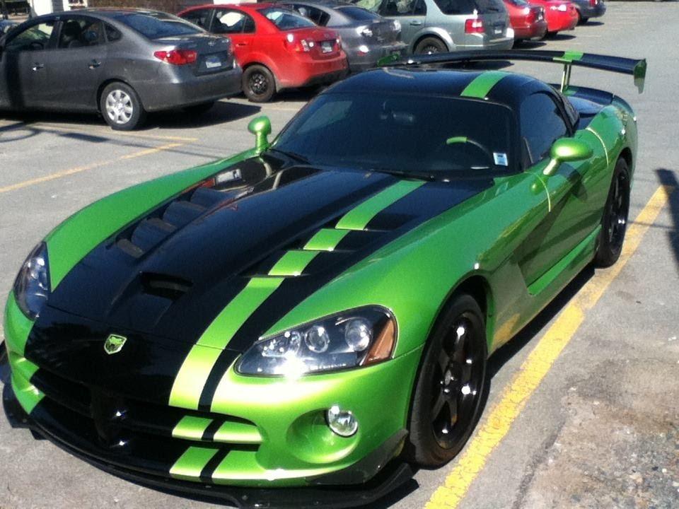 Dodge Viper Srt10 Acr Snakeskin Green Youtube