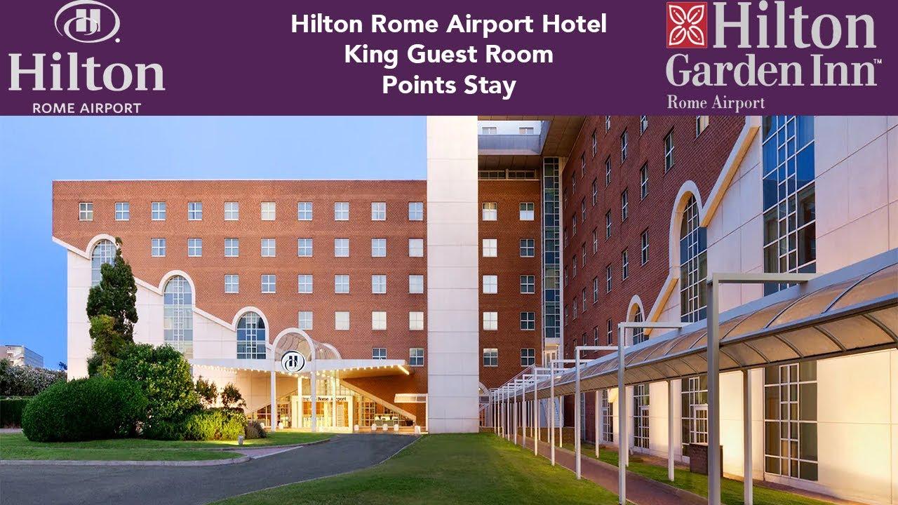 Hilton Garden Inn Rome Airport - Hotel & Room Walkthrough in 4K ...