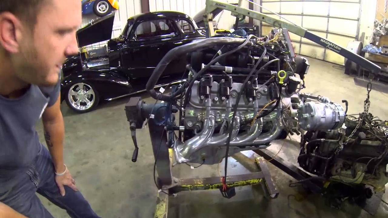 small resolution of 6 0 liter swap into 96 z71 presented by street performance inc youtube