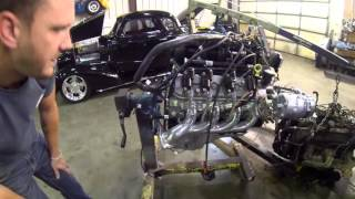 6.0  liter swap into 96' Z71 presented by STREET & PERFORMANCE INC