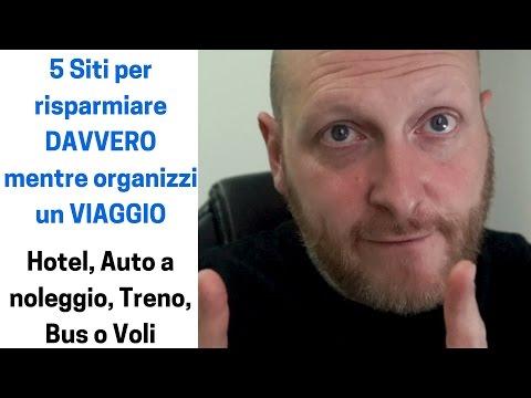 5 Siti Per Risparmiare DAVVERO Mentre Organizzi Un VIAGGIO: Hotel, Noleggio Auto, Treno, Bus O Voli
