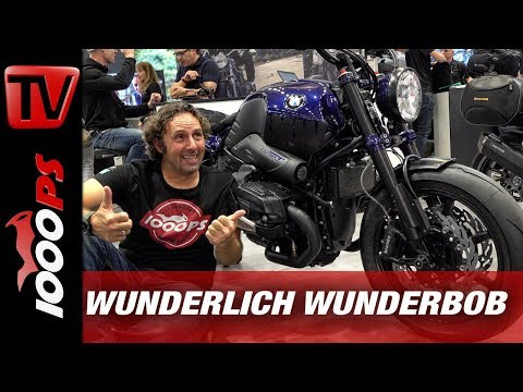 Wunderlich Wunderbob - BMW Rninet Bobber Umbau auf der INTERMOT 2018