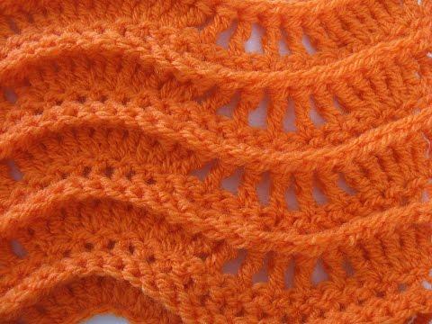 Lacy Ripple Stitch – Crochet Tutorial