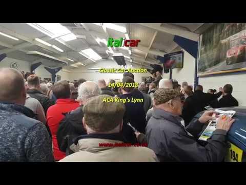 italicar Auction Report - ACA King's Lynn Classic Car Sale, 14th April 2018