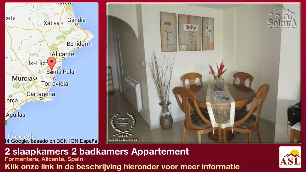 Badkamer Op Formentera : Slaapkamers badkamers appartement te koop in formentera