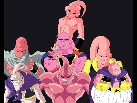 Who's The Strongest Majin Buu? ( Old Opinion)   YouTube