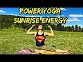 POWER YOGA - Morning Energy Workout - 30 Day Yoga Challenge
