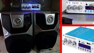 Nice Amplifier Kentiger V10 Bluetooth V4.0 + Radio, USB, AUX, Hi-Fi / Clean sound and powerful bass