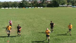 Rugby Drills - Passing - 3v2 Draw and Pass