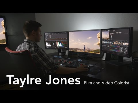 Taylre Jones Film and Video Colorist | Lynda.com from Linked