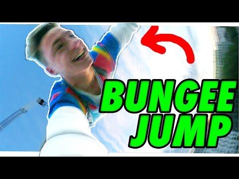 bungee jumping beim videodreh asurekazani. Black Bedroom Furniture Sets. Home Design Ideas