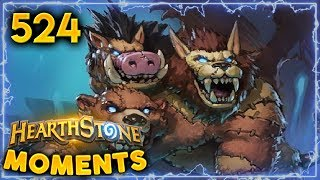1 Lethal Off Damage!! | Hearthstone Daily Moments Ep. 524