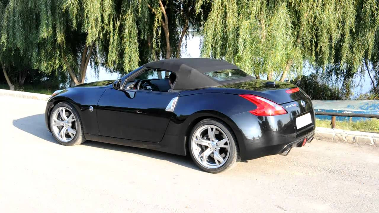 Nissan 370z Roadster Retractable Roof Youtube