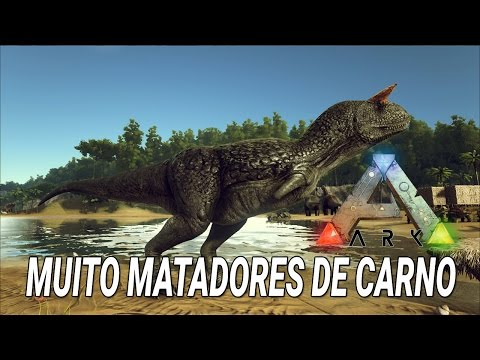 Muito matadores de Carno no Ark: Survival ft. SuperBill