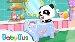 ❤ Wash Your Hands Before You Eat | Animation For Babies | BabyBus | Baby Panda
