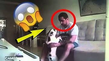 She Setup A Hidden Camera And Caught Her Husband Doing This With The Dog!