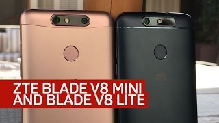 ZTE's Blade V8 Mini and V8 Lite mix metal, Nougat and dual cameras