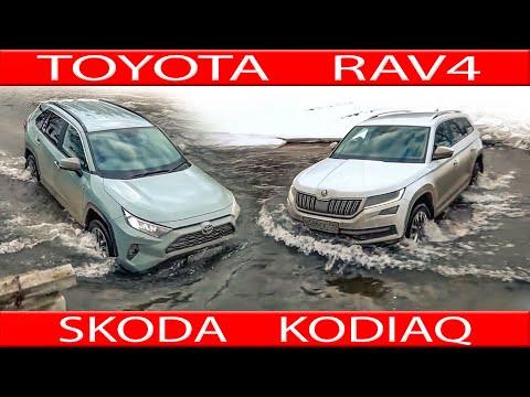 Новые горки SKODA KODIAQ реабелитируется перед новым TOYOTA RAV4, Ford Kuga и др.