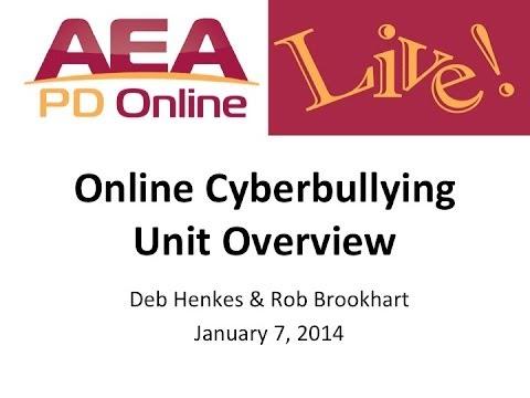 Online Cyberbullying Unit for Iowa Educators