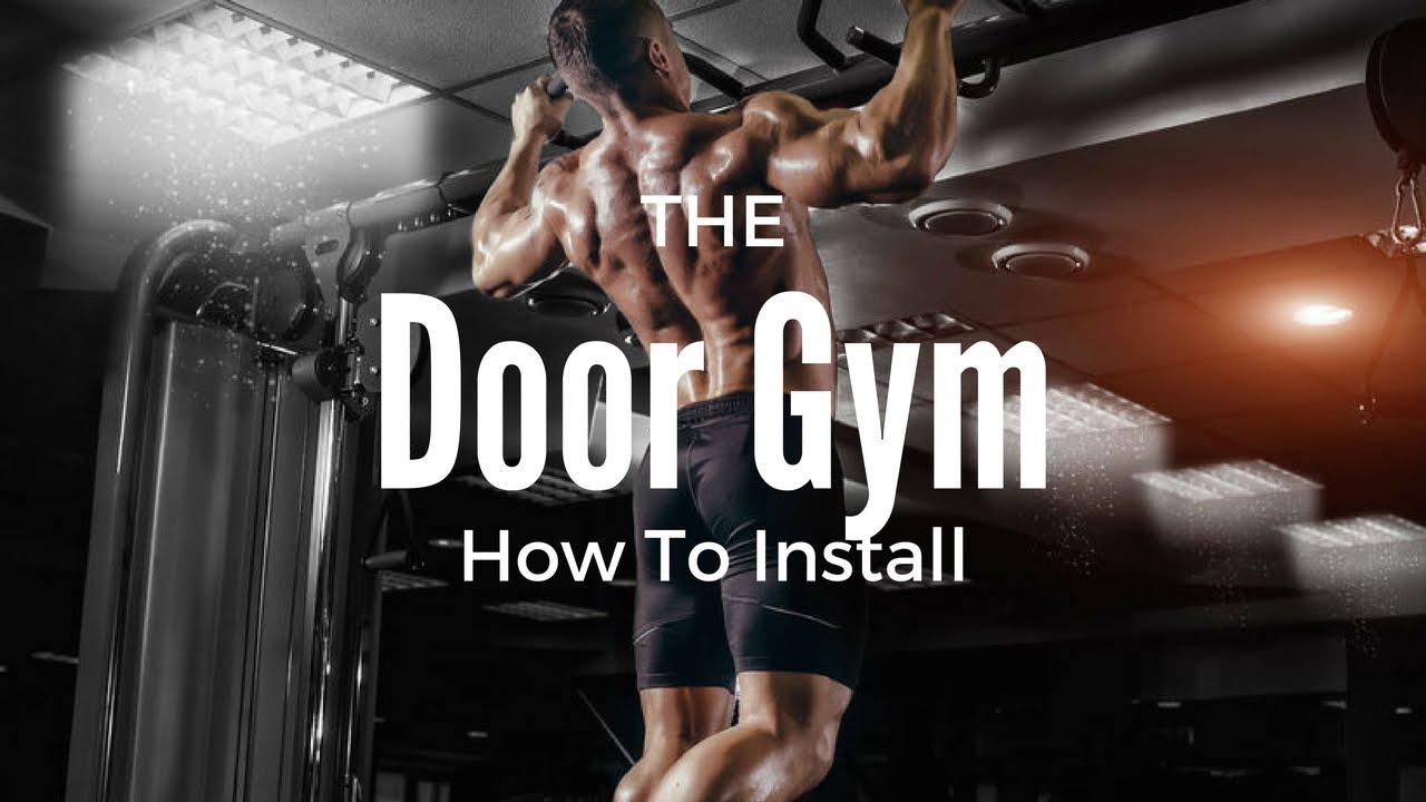 door gym how to install youtube rh youtube com Door Cable Workout Door Cable Workout