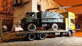 СКРЕЩИВАЕМ ГАЗ 66 (ШИШИГА) с Chevrolet CAMARO.